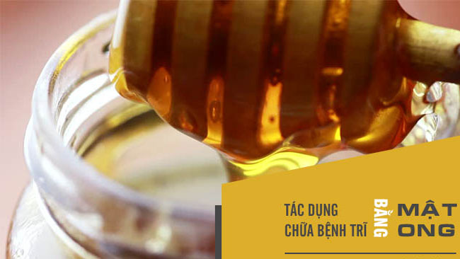 tác dụng chữa bệnh trĩ của mật ong