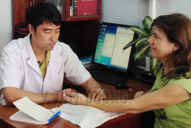 bệnh nhân chữa bệnh trĩ